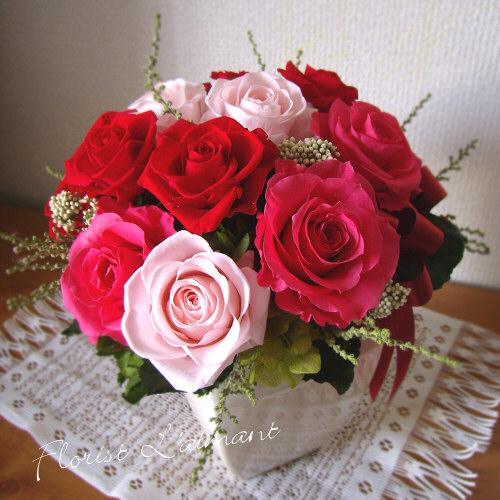 彼女、妻へ贈る誕生日プレゼント ローテローゼ(レッド)